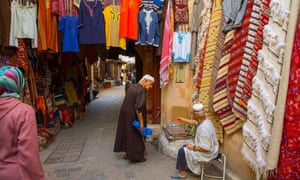 'There's just you, 9,000 unnamed alleys, 40,000 dead ends and your sense of direction to guide you': entering the souk.