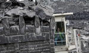Coal mine in Ilkeston, UK