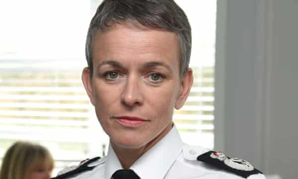 Olivia Pinkney, the force's chief constable