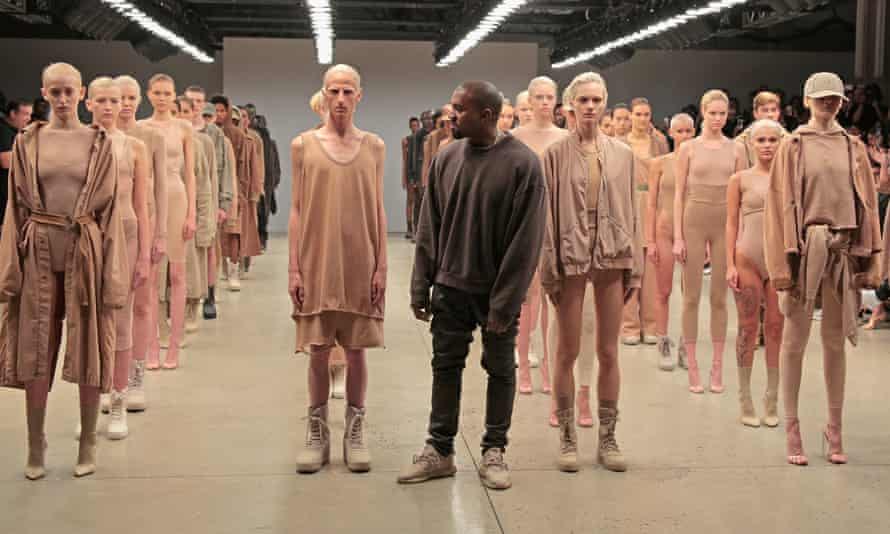 Kanye West launches Yeezy Season 2 at New York Fashion Week, September 2015.