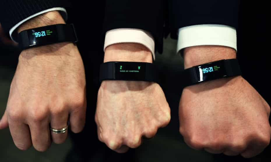 Wearable tech such as watches and trackers will allow people to monitor their exercise levels.