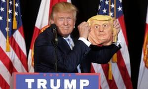 Donald Trump campaigning in Sarasota, Florida, November 2016