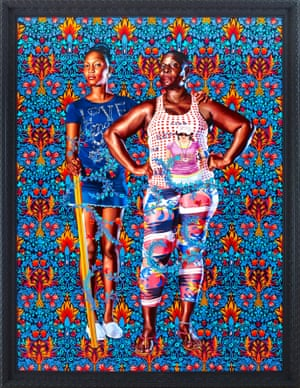 Portrait of John and George Soane, 2013 © 2019 Kehinde Wiley. Courtesy of Stephen Friedman Gallery.