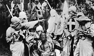 still from DW Griffith's The Birth of a Nation