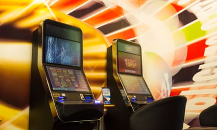 Fixed-odds roulette machines, a type of fixed odds betting terminal.