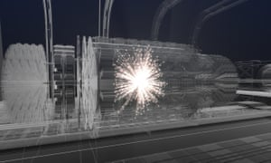 An artist's impression of the proposed Future Circular Collider
