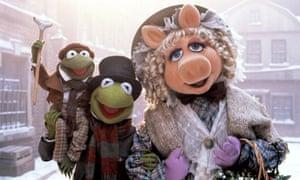 The Muppet Christmas Carol. Kermit, Miss Piggy