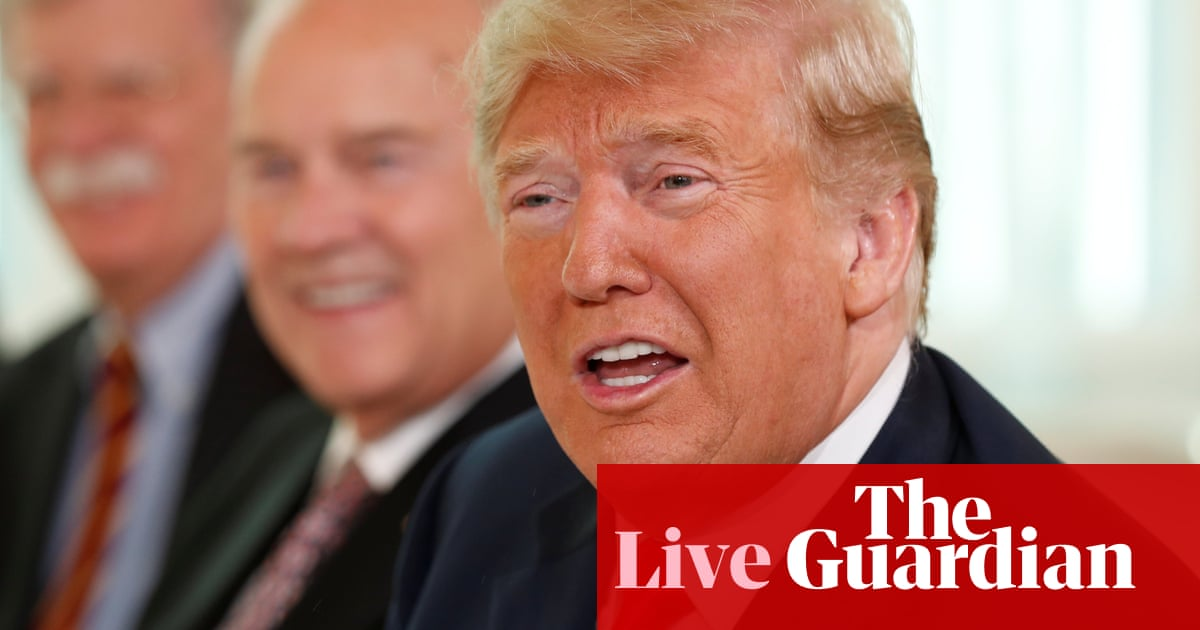 Trump says relations with Russia have never been worse as he prepares to meet Putin in Helsinki –live updates