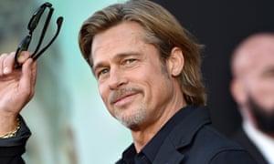 Up for a cameo … Brad Pitt.