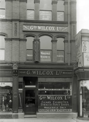 George Wilcox Tobacconist wholesaler, London Road,Derby, c.1930