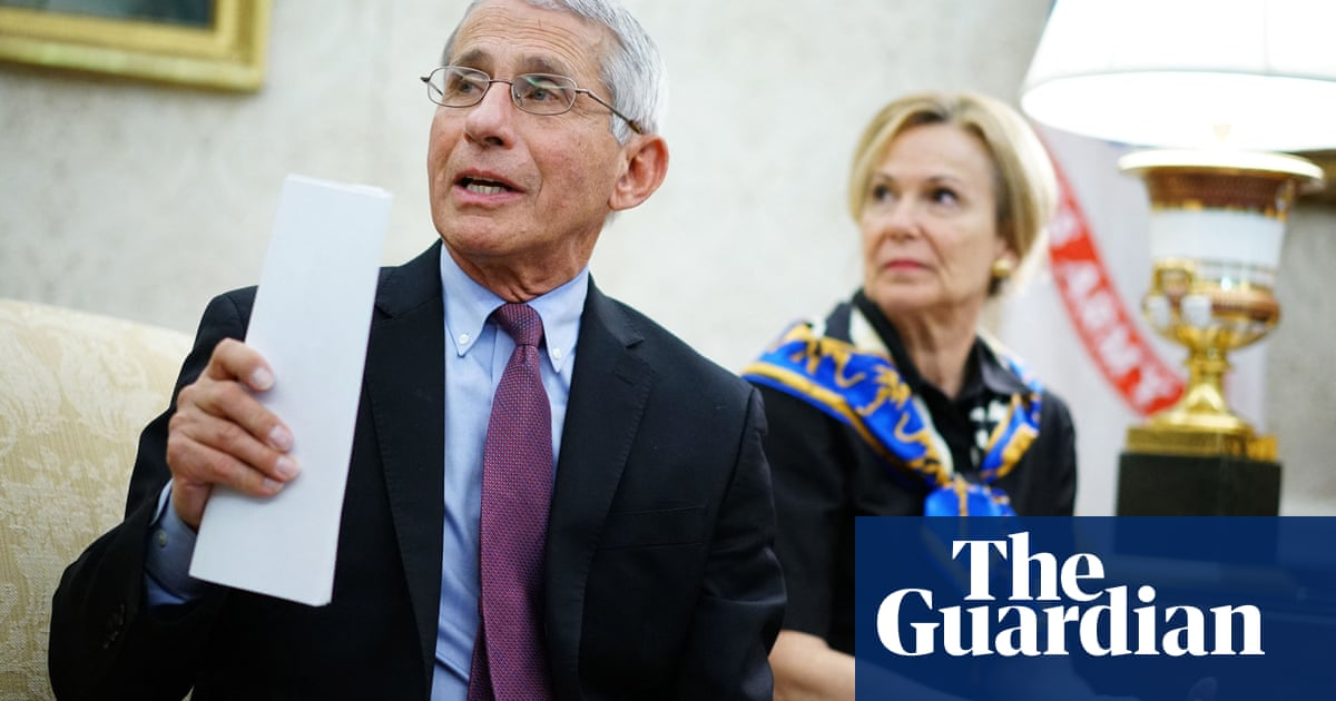Fauci hits back at rightwing criticism and says attacks on him 'bizarre'