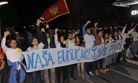 Anti-government protesters