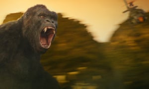 Some monkey business in Kong: Skull Island.