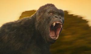 Roar power … Kong: Skull Island.