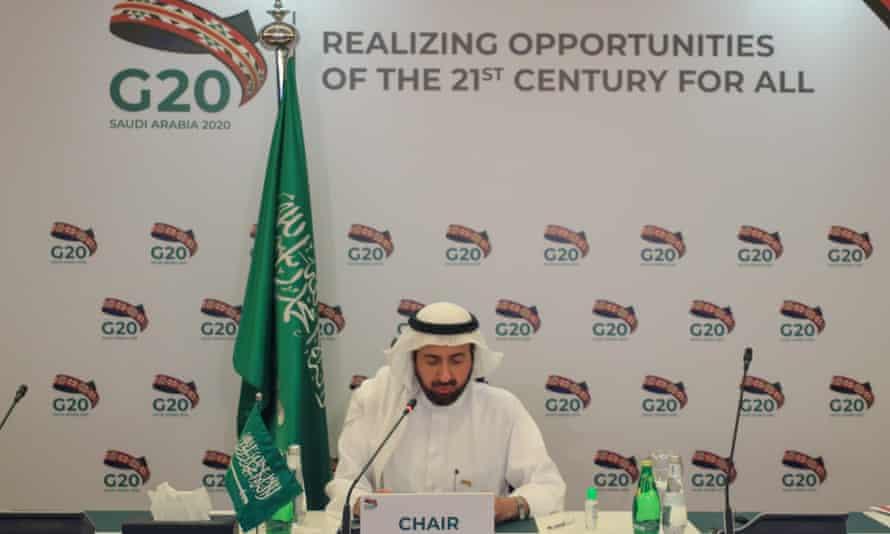 Saudi health minister Tawfiq al-Rabia