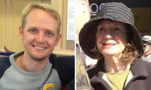 Greig Friday and Carol Friday, victims of the Germanwings air crash in the French Alps.