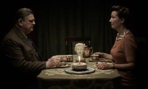 Subtleties ... Brendan Gleeson and Emma Thompson in Alone in Berlin
