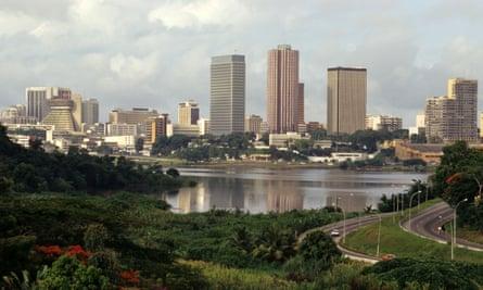 Abidjan, Ivory Coast, Africa.