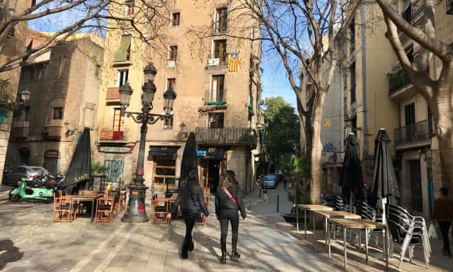Plaça Sant Agustí Vell in Barcelona