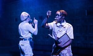 Kooky … Travis Alabanza and Seraphina Beh.