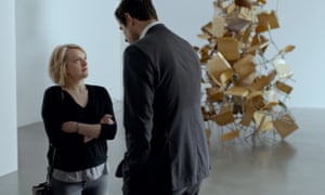 Elisabeth Moss and Claes Bang in Ruben Östlund's 'wonderfully puckish' The Square