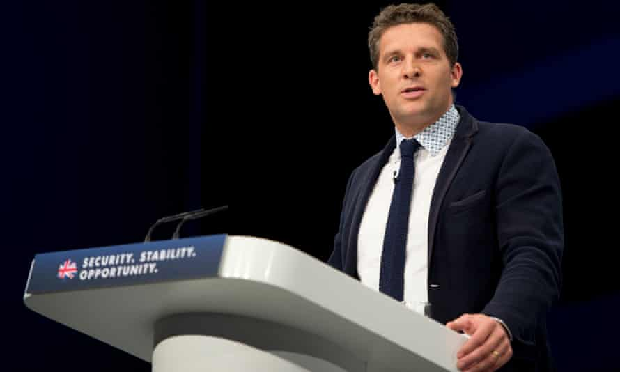 James Timpson speaking at the Conservative party conference in 2015
