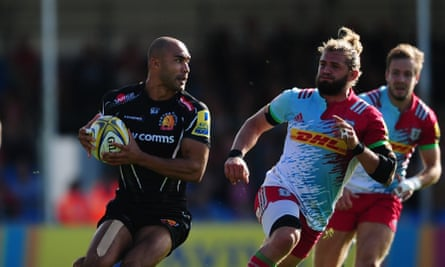 Exeter S Lachie Turner Off The Leash And Ready To Punish Premiership Rivals Premiership 2016 17 The Guardian
