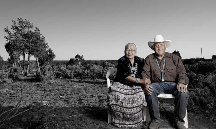 Robert and Fannie Mitchell. Tribal affiliation: Dine