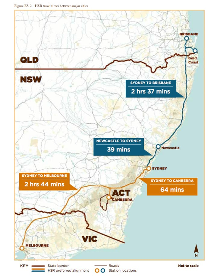 High-speed trains to nowhere: Australia\'s long-running rail ...