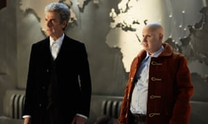 Peter Capaldi and Matt Lucas in the Doctor Who Christmas special
