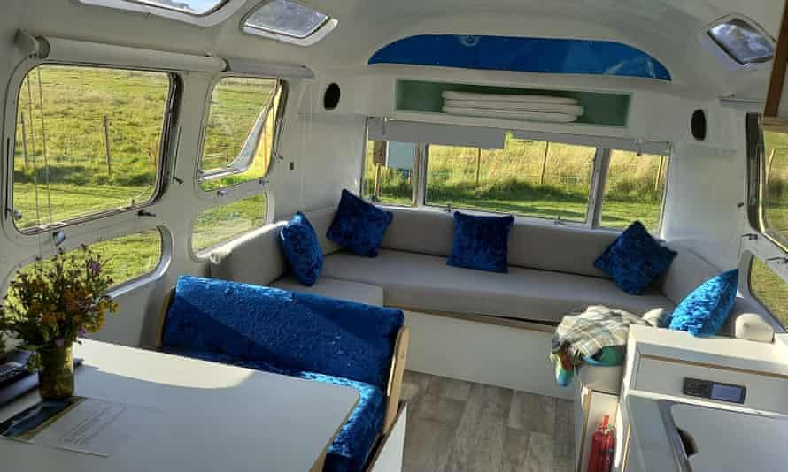 Airstream interior.