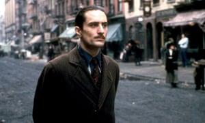 Robert De Niro in The Godfather: Part II.