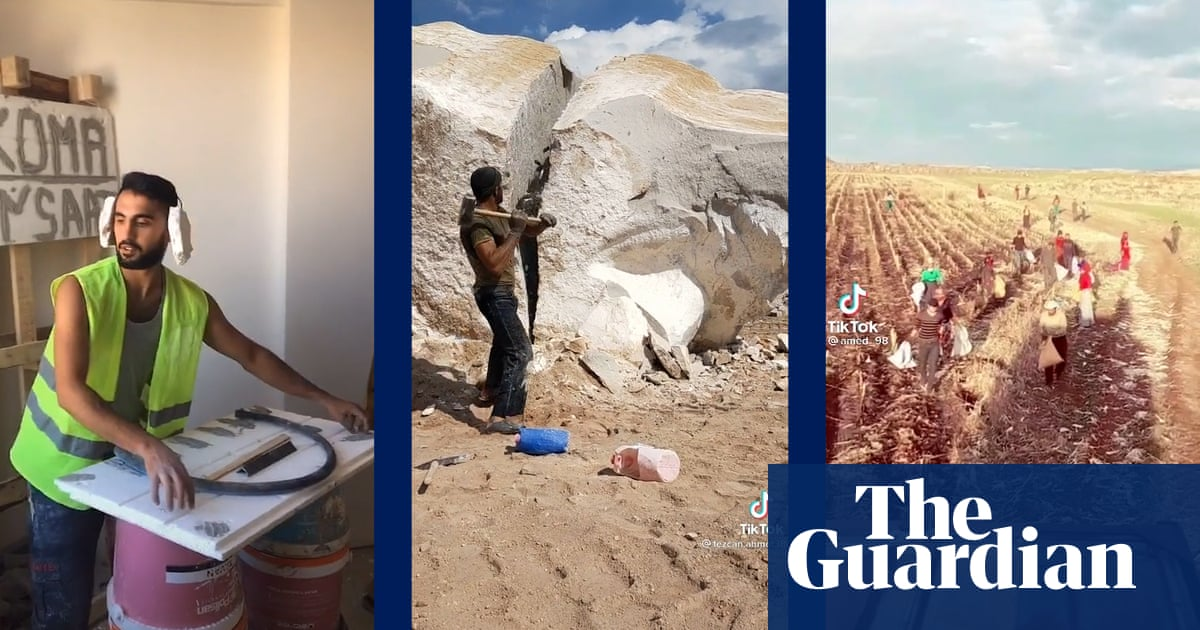 'I felt I existed in this world': TikTok gives a voice to Turkey's labourers