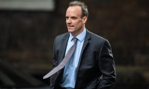 Raab was made a housing minister in the recent reshuffle and has been touted as a future Tory leader.
