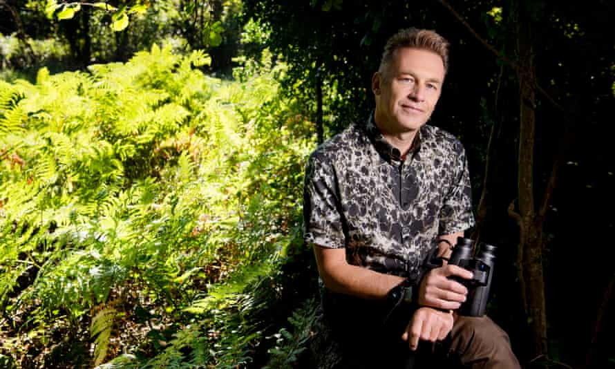 The naturalist and broadcaster Chris Packham