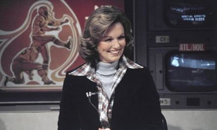 Phyllis George on The NFL today in 1976
