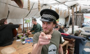 Grow Heathrow occupies land near Heathrow that has been squatted and turned into gardens and a community space