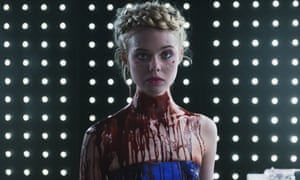 'Jesse entrances the male elite of designers and photographers and the satanic, blood-slurping sisterhood are far from happy' … Elle Fanning in The Neon Demon.