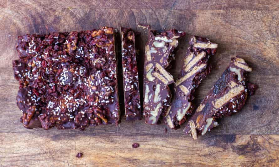 Tom Hunt's refrigerator cake makes short work of those stale biscuits