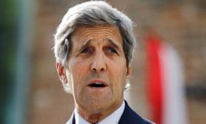 John Kerry in Vienna