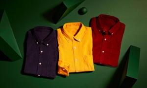 John Lewis & Partners Needle Corduroy Slim Fit Shirt