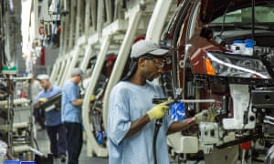 Economists had been expecting economic activity to have slowed to below 2% over the last quarter as the US's ongoing trade disputes with its largest trading partners tok their toll and businesses cut back on investments.