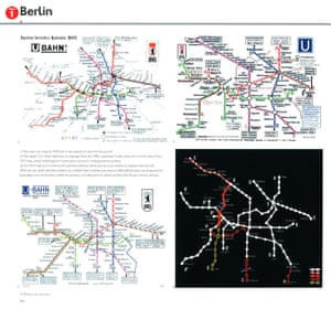 Historic maps of Berlin U-bahn from Transit Maps of the world