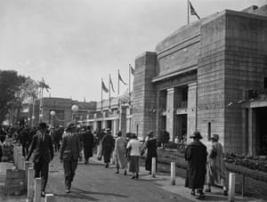 The Palace of Engineering, British Empire Exhibition, 1924