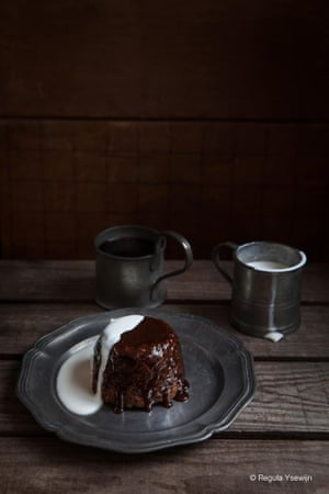 Sticky toffee pud: you would, wouldn't you?