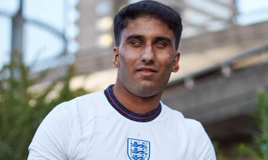 The 22-year-old England international Azeem Amir