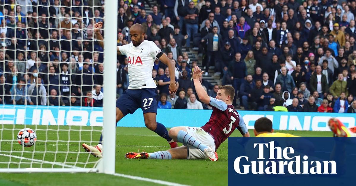 Matt Targett gets his aim wrong to hand Spurs nervy win over Aston Villa