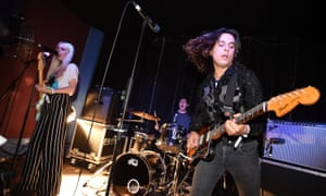 Shake, rattle and roll … Inheaven were greeted with a giant mosh pit at their Great Escape festival gig this weekend.