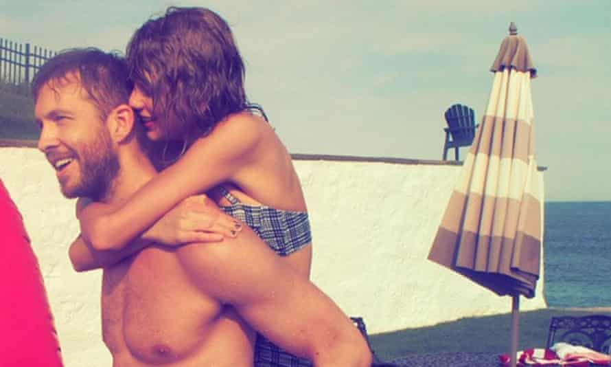 Calvin Harris and Taylor Swift dated for more than a year.