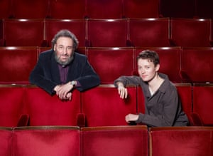 Actors Antony Sher and Matthew Tennyson, photographed at the Arts Theatre, in London's Covent Garden